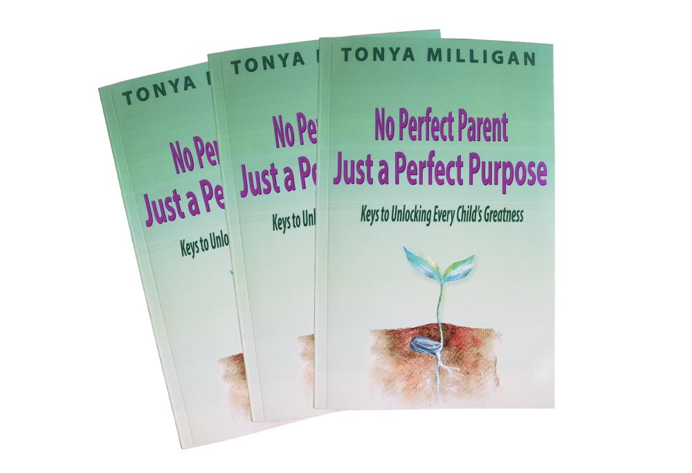 Photo of No Perfect Parent Just a Perfect Purpose Book by Tonya Milligan